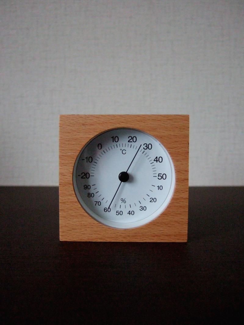 無印温湿度計