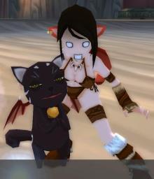 姫様と黒猫