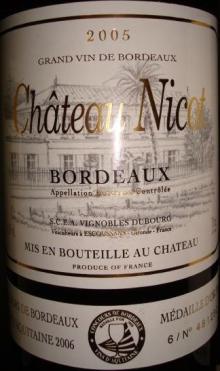 Ch Nicot 2005