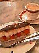 モンブランのケーキ