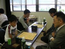 島・土橋先生と小山兄弟