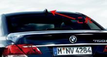 BMWのアンテナ