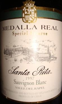 Medalla Real Santa Rita 1997
