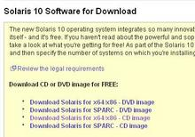 Solaris10 DownloadCenter - 1