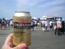 外で飲むビールは何本もいけちゃいますネ((笑))