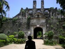 サンペドロ要塞正門