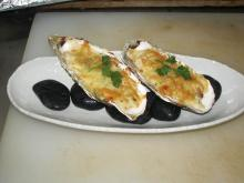 生牡蠣のベシャメルソースグラタン