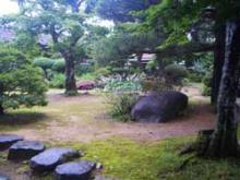 高山陣屋庭