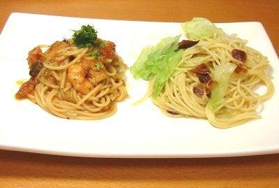 トマトとペペロンチーノ