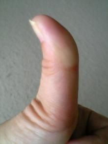 さとりの親指