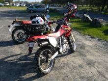 ゴールドコースト・バイク日記 XR250-BMとXR