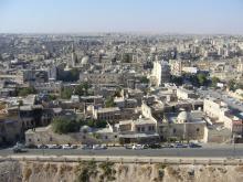 Aleppo from Citadel