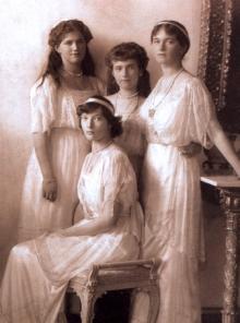 ニコライ2世の4皇女