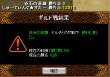 RELI姫のおてんば(?)日記-結果