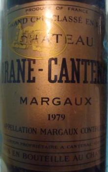 Ch Brane Cantenac 1979