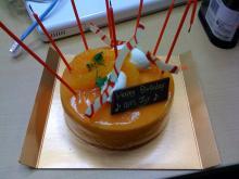 もうひとつの場所と自分-誕生日ケーキ
