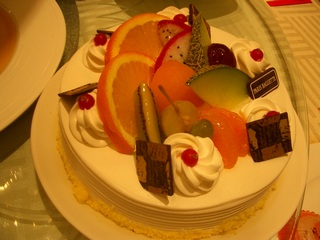 パリバケのケーキ