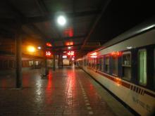 深夜の停車駅