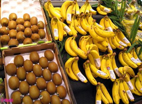 バナナ&キウイ