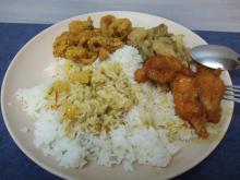 シンガポールの昼食