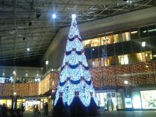 鹿児島中央駅クリスマス