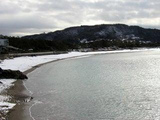 2006 一色海岸の雪景色