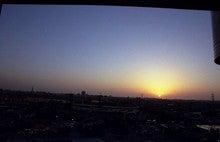 八階からの夕景