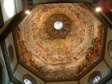 ドゥオモの天井