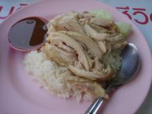 お昼のカオマンガイ