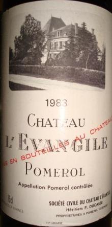 Ch L EVANGILE 1983