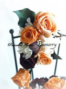 Plumerry(プルメリー)プリザーブドフラワースクール (千葉・浦安校)-ブーt-ニア ウエディング プリザーブドフラワー