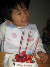 3歳バースデー