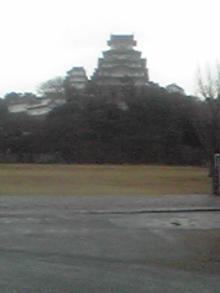 かってにライバルは、真鍋かをりさん-姫路城