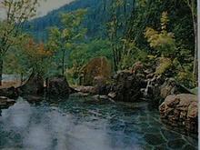 サンビレッジの露天風呂
