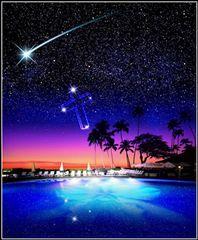 ハワイの星空。