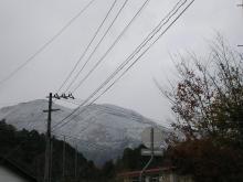 20081119初雪