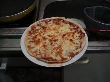 日記/手作りピザもどき