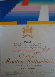 Ch Mouton Rothschild 1984