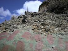 火山岩補強