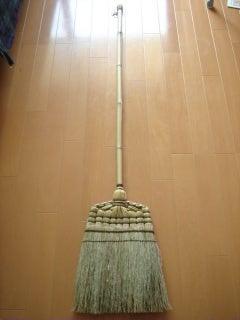 無印 掃除用品 ほうき&ポールで玄関掃除を快適に!