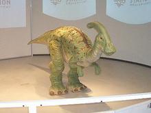 2足歩行恐竜ロボ