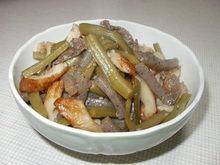 山クラゲとちくわの煮物