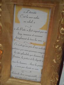 「永遠」詩原稿?