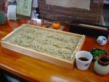 中松駅のお蕎麦屋さん