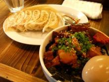 餃子+チャーシュー飯