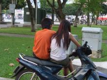 ベトナムのカップル