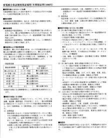家電総合保証制度保証規程