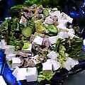 豆腐のサラダわさびドレッシング