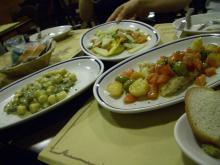 ベネツィア2日目の夕食