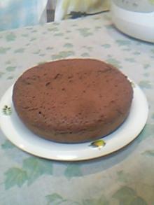炊飯器チョコレートケーキ5